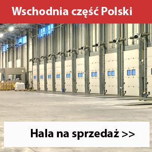 Hala na sprzedaż lub do wynajęcia wschód Polski
