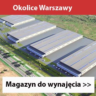 Czosnow Logistic Park koło Warszawy magazyny do wynajęcia na sprzedaż